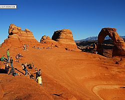 Arches National Park - Delicate Arch - Fu�marsch